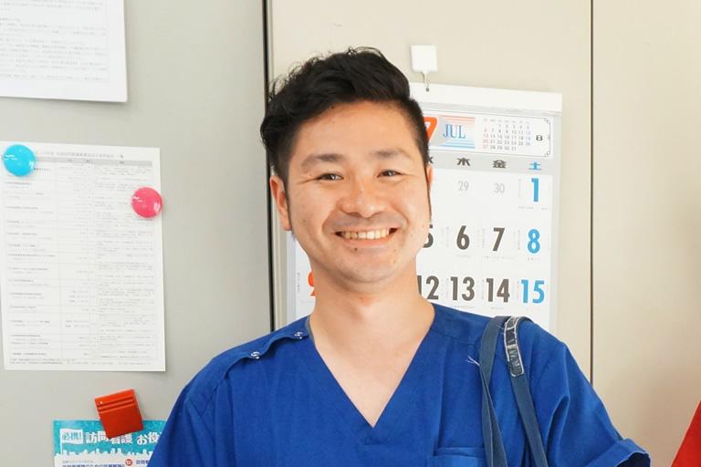 訪問看護ステーション スリーピース 訪問看護・訪問医療 野口 大樹