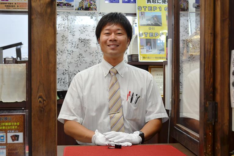 リサイクルマート熊取|買取査定・質預かり・販売・商品発送|吉原 健太郎